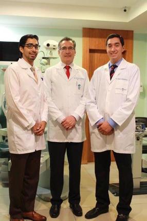 Father and sons Ivan Matamoros (Medical student), Dr Nelson Matamoros, Dr Roberto Matamoros